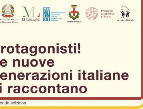 """""""Protagonisti!  Le nuove generazioni italiane si raccontano"""""""
